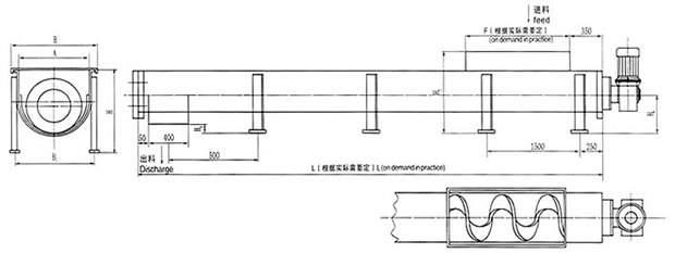 FXWS无轴螺旋输送机