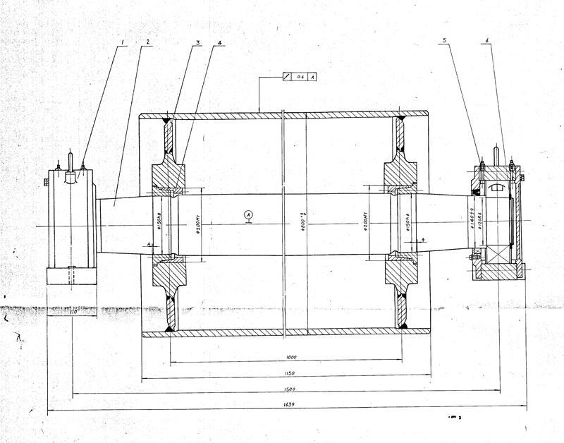 产品列表 皮带输送机 > 电动滚筒|传动滚筒图纸   国内外生产的减速器